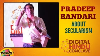 Pradeep Bandari About Secularism | Digital Hindu Conclave LIVE | Bharat Niti | Hyderabad |Mango News