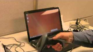 setup 2D scanner