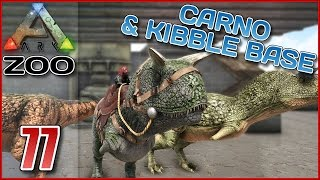 ARK Zoo #E77 - CARNO TAMING & KIBBLE BASE - Ark Survival Evolved [Deutsch/German]
