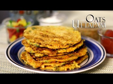 Oats Uttapam Recipe Or Dosa