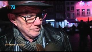 Rudy van der Zande herdenkt zijn dierbare bij Bossche Lichtjesprocessie