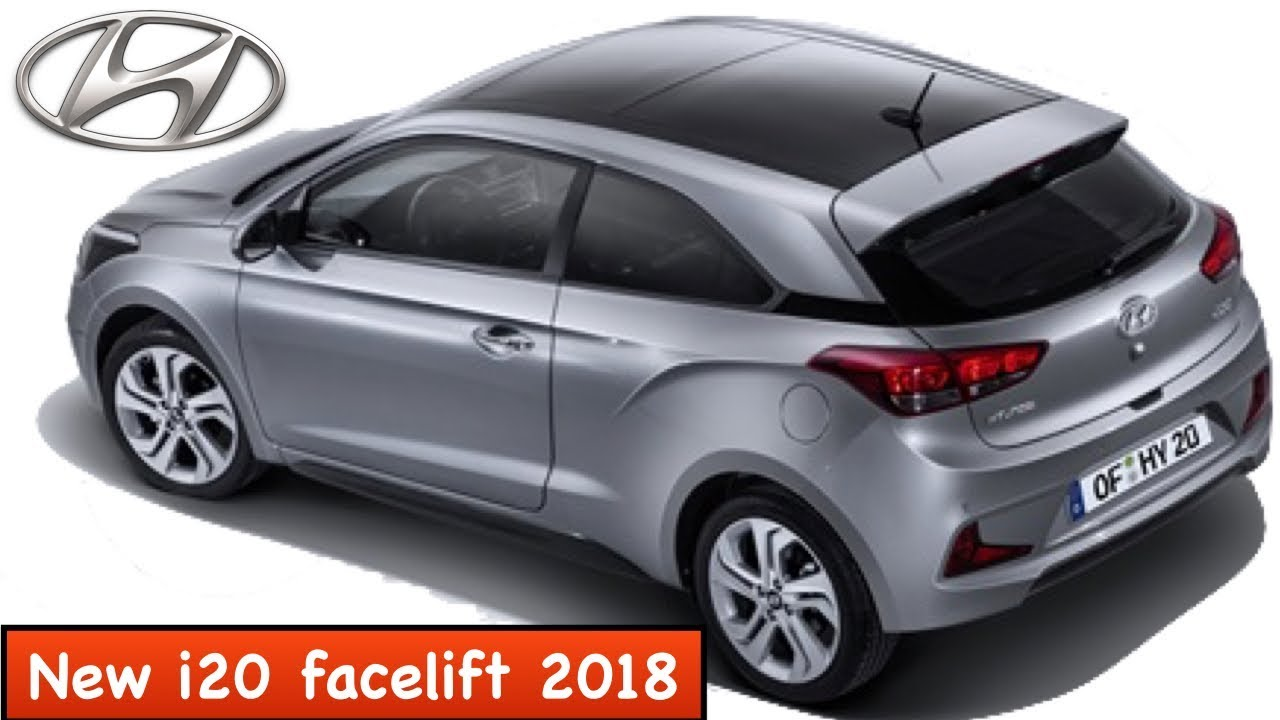 new hyundai i20 2018 facelift launch features and. Black Bedroom Furniture Sets. Home Design Ideas