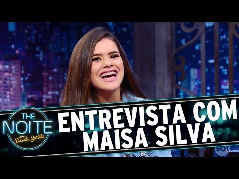 The Noite (29/09/16) - Entrevista com Maisa Silva