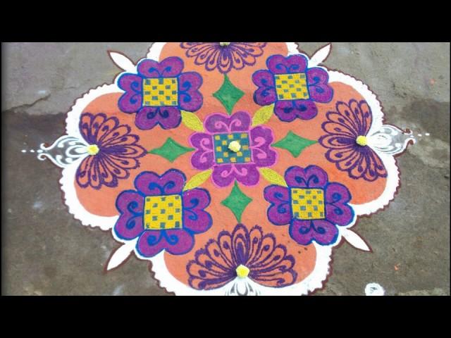 Dotted Rangoli || Dotted Rangoli Designs || Indian Art
