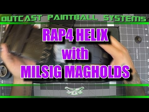 RAP4 DMAG HELIX with MILSIG MagHolds