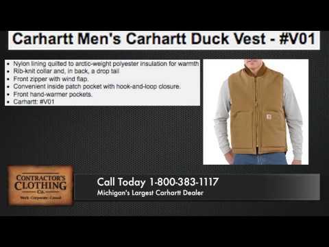 Carhartt Duck Vest/Arctic Quilt Lined - Metro Detroit