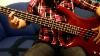 Bass cover. Your new cuckoo- The cardigans