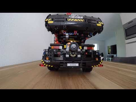 Lego Technic Rough Terrain Crane 42082 Full RC mod