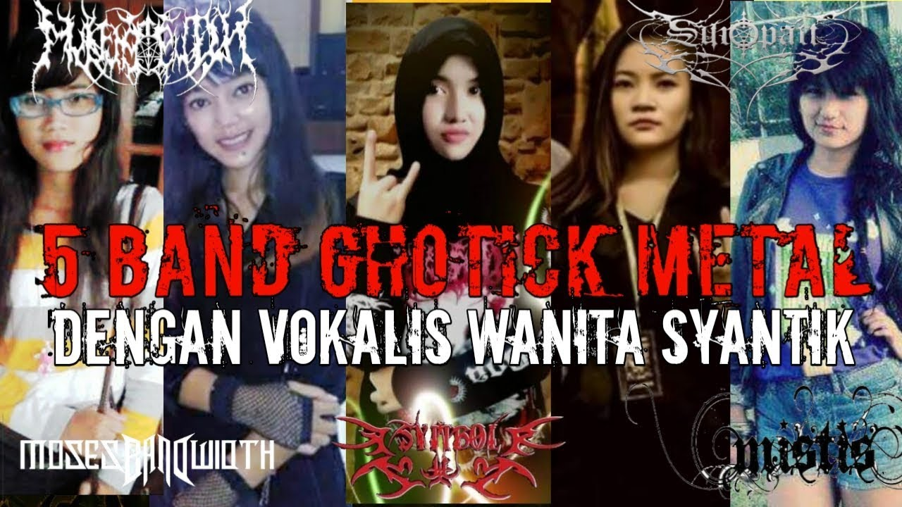 Lagu gothic metal - 5 band gothic metal lagunya sedih