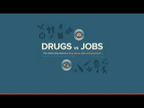 Drugs Vs. Jobs: The Correlation Between Unemployment and Addiction