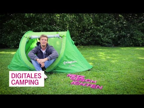 Social Media Post: Digitales Camping - Netzgeschichten