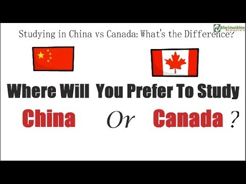 Studying In China Vs Canada; Which Is Better?