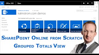 Show Grouped Totals in SharePoint Web Part