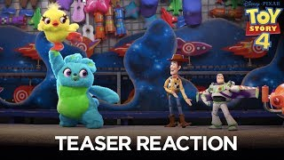 Toy Story 4 | Teaser Trailer Reaction thumbnail
