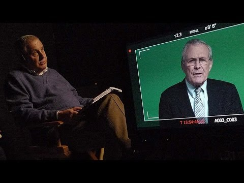 Errol Morris on Donald Rumsfeld, The Unknown Known, and EvidenceBased Journalism