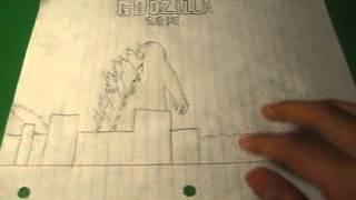 My Godzilla 2014 Drawing Collection
