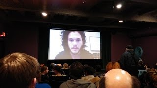 (Q&A's TIMERS IN THE DESCRIPTION) Kit Harington - Interview at Jean Cocteau Cinema, February 2014