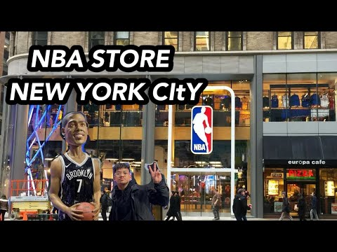 NBA STORE IN NEW YORK 5TH AVE.