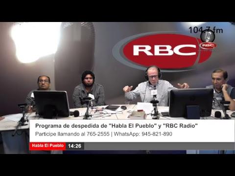 2018-12-28 // Habla El Pueblo por Radio RBC 104.7 FM