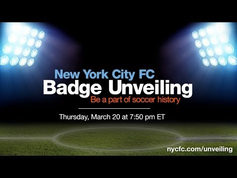 New York City FC Badge Unveiling