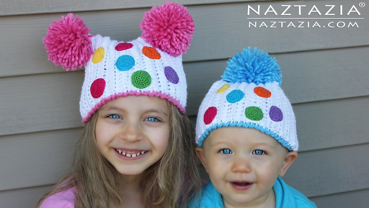 Diy Tutorial Crochet Birthday Party Hats For Kids Children Young