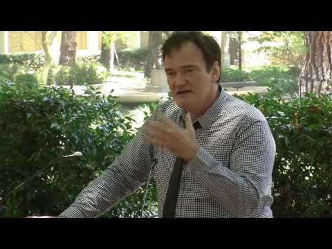 Keynote Speaker Quentin Tarantino at UCLA TFT's Design Showcase West 6/4/16