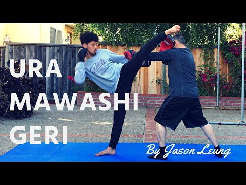 URA MAWASHI GERI (HOOK KICK) TRAINING TIPS | Jason Leung