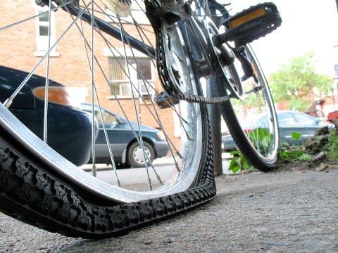 Давление в шинах велосипеда. Какое давление должно быть в шинах