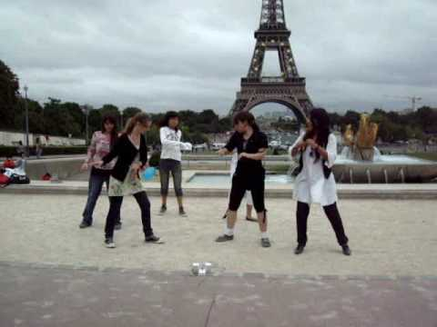 U dance - eiffel tower paris 2008