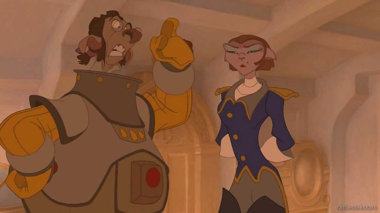 Treasure Planet Captain Amelia Blu Ray Youtube