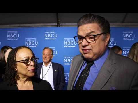 "NBC 2017 Upfront ""Chicago Med"" Oliver Platt and S. Epatha Merkerson"