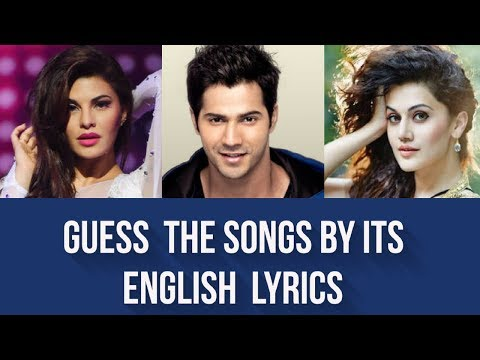 Guess the Song by its English Lyrics | Bollywood | #2