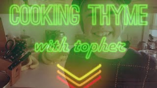 """Cooking Thyme with Topher - Episode 7: """"Frosted Carrot Cake"""""""