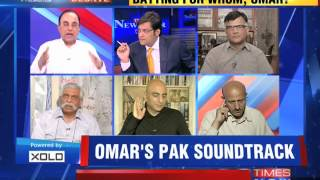 The Newshour Debate: Omar Abdullah Out Of Sync - Part 1 (25th August 2014)