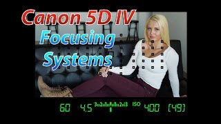 Canon 5D IV Tutorial Training | Focusing Systems | Canon 5D4