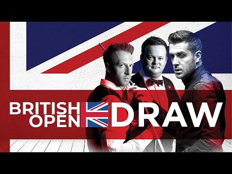 2021 British Open DRAW | Round One