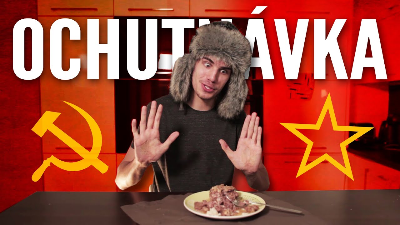 OCHUTNÁVKA RUSKÝCH - POCHUTÍN A SLADKOSTÍ!