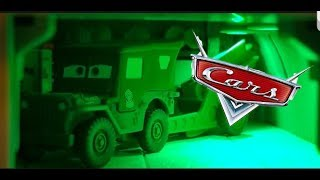 Disney Cars Mattel Sarge w/ Cannon | NEW 2018 (Deluxe) Diecast Review!