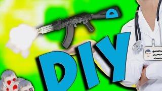 DIY-Как сделать автомат из дерева(ПАРОДИЯ).(Это видео является пародией на DIY., 2016-09-18T10:02:52.000Z)