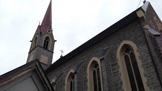 Stans b. Schwaz (A) - Neue Pfarrkirche zum hlgst. Herz Jesu - Vollgeläute