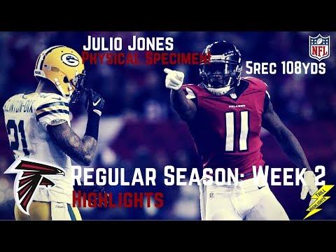 Julio Jones Week 2 Regular Season Highlights Physical Specimen | 9/17/2017