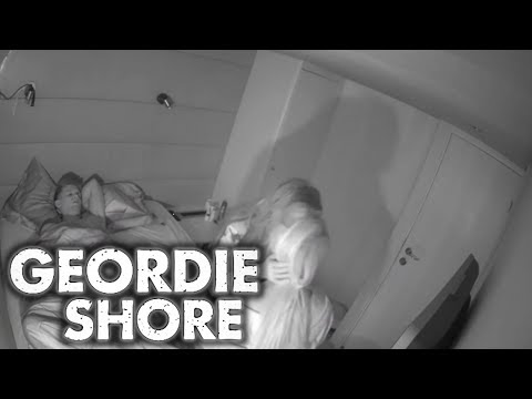 Geordie Shore Season 11 | Charlotte and Chloe Lesbian Kiss For Gaz!! | MTV thumbnail