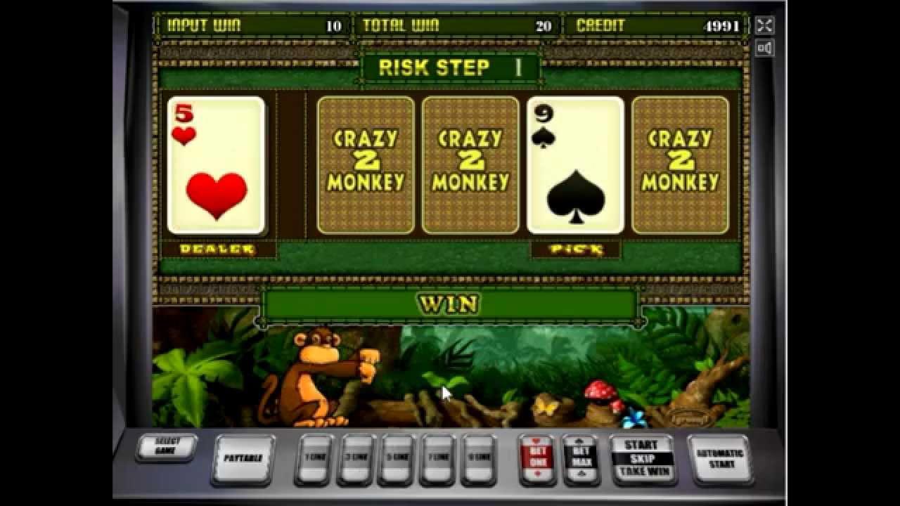 Игровые автоматы обезьяны 2 дума и игровые автоматы