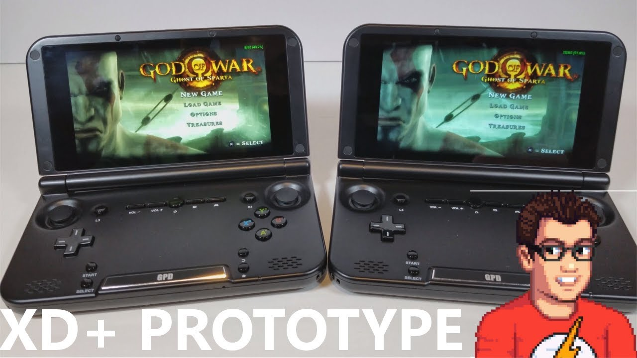 gpd xd plus gamecube emulation
