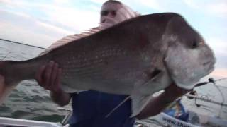 RECORD BREAKING GIANT VICTORIAN SNAPPER That's Fishing -Eric's Tea Tree winning snapper -