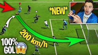 🔥 *NOWY* SEKRETNY STRZAŁ w FIFA 19 😱 (100% GOL)