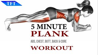 5 Minute Plank Workout - Team Fitness Training