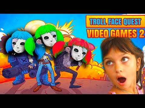 САЛЛИ ФЕЙС поймала НАС в ТРОЛЛФЕЙС! SALLY FACE и ПРИВЕТ СОСЕД TrollFace Video Games 2 Валеришка kids