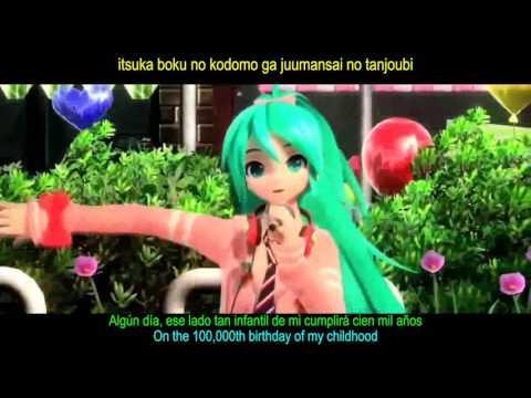 Hatsune Miku - AI KOTOBA (Project DIVA Arcade) Sub español-romaji-ingles