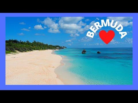 BERMUDA: World's most spectacular BEACH at HORSESHOE BAY